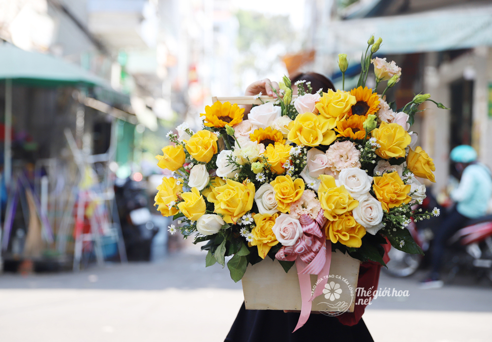hoa sinh nhật đẹp