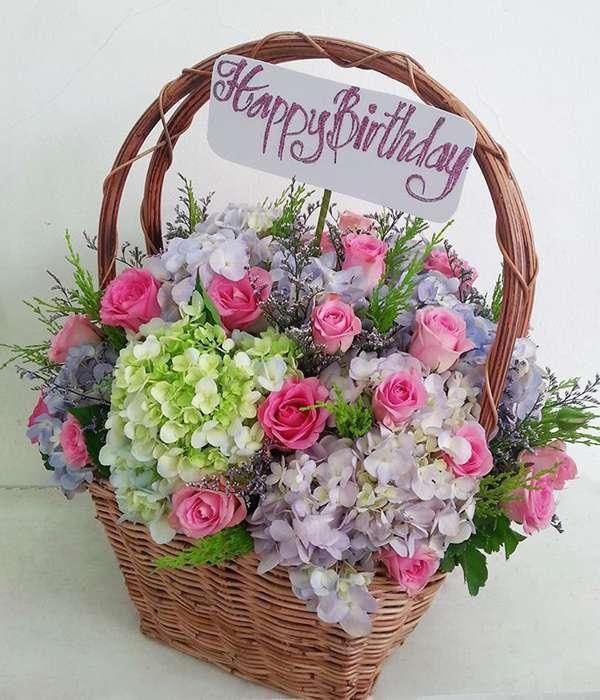 lẵng hoa sinh nhật tặng bạn